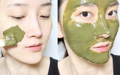 Mặt nạ bột trà xanh trị mụn – 30 ngày trải nghiệm part 2