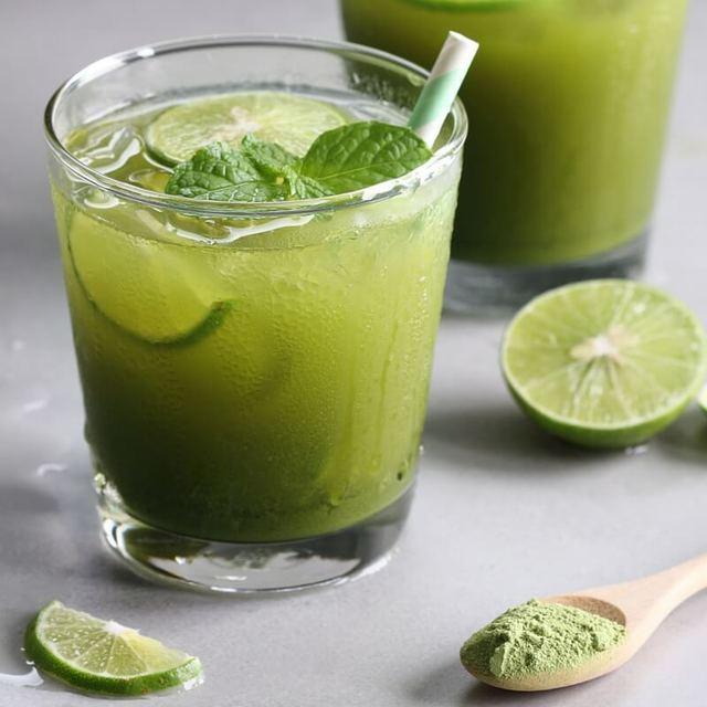 Cách  pha chế trà xanh và chanh tốt cho sức khỏe  tại nhà