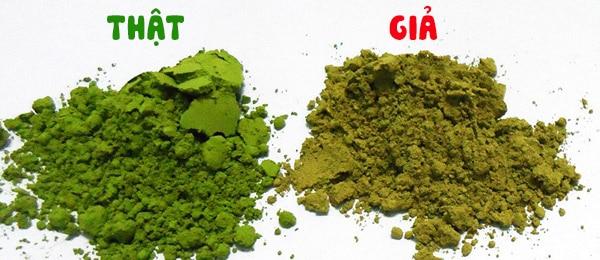 Bột trà xanh Matcha Đài Loan kém chất lượng ?