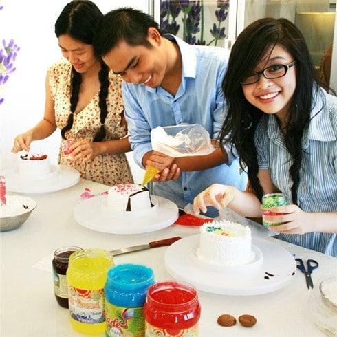 Các lớp học làm bánh tại TPHCM được yêu thích nhất