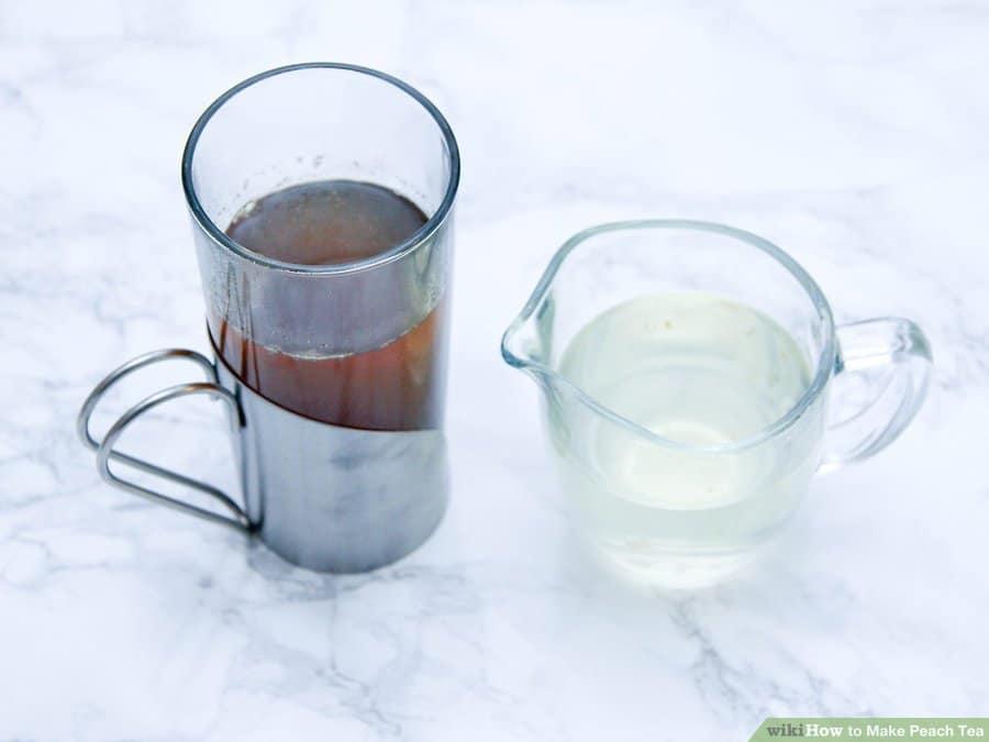 cách làm trà đào đơn giản tại nhà